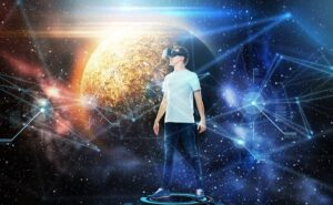 virtual reality applications: space