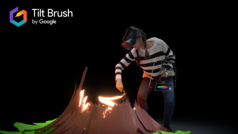 Tilt Brush game